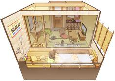 Ai cũng tìm thấy một ngôi nhà trong mơ của mình trong bộ tranh này - Ảnh 12.