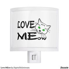 Love MEow Night Light