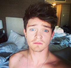His eyes though Connor Ball❤️