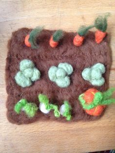 Miniature Desktop Vegetable patch Pumpkin Autumn by ThePotOfGold