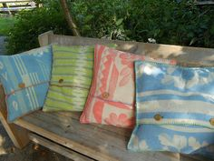 Pillows, backsides, Eexterhout by Kyroushka / Eexterhout, via Flickr