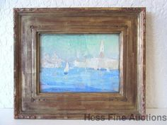 Original Jane Peterson Grand Canal Venice Oil Painting Boston ny Impressionist #Impressionism