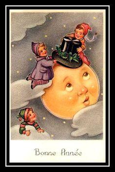 postcard.quenalbertini: Vintage Holiday Card