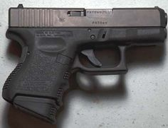 Glock 26.  Like mine, this one has the plus-2 mag.  Better, Alex?