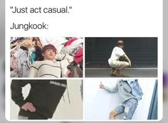 *dies of secondhand embarrassment* even though kookie is never embarrassed, I will be embarrassed enough for the both of us