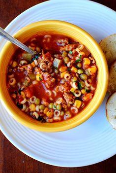 Minestrone Soup | Iowa Girl Eats