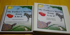 Tracey's Journal: How I organize Kindergarten - My Father's World