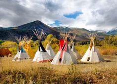 November 30, 2012: Teepees Encampment, photo by Tom Kelly