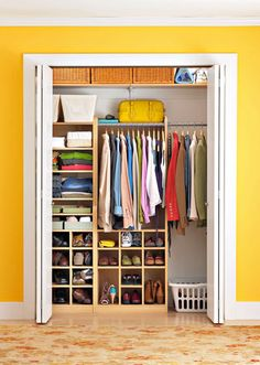 how to make an organized wardrobe (in Russian)