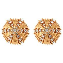 104157d7b180e8 Buy Susan Caplan Vintage 1960s Ciner Swarovski Crystal Sunburst Earrings  Online at johnlewis.com Pearl