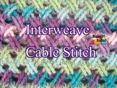 Crochet Stitch - Interweave Cable Stitch - Meladora's Creations by JadeMonroe