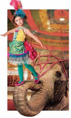 Circus acrobat costume.