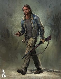 Tommy : Last of Us by Hyoung Nam | Illustration | 2D | CGSociety