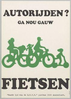 Autorijden? Ga nou gauw fietsen! Ook naar kantoor! #gezond #duurzaam