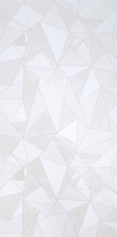 Origami White Wallpaper from Mimou.