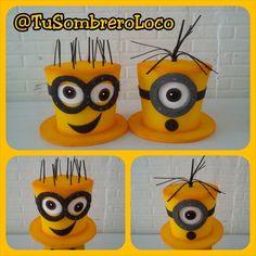 #Banana!!! Listos los #Minions #sombreros para nuestros amigos de @planeventos1…