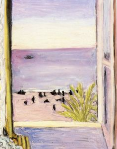 The Open WindowHenri Matisse - 1921 Private collectionPainting Height: 39.5 cm (15.55 in.), Width: 31.7 cm (12.48 in.)