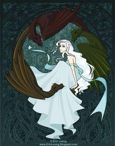 Game of Thrones - Daenerys Targaryen.