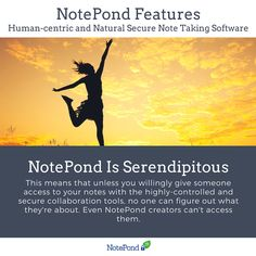 While most services remain the way you leave them, NotePond doesn't work that way. It features an element of chance and serendipity to discovering notes. This allows you to discover content your brain might have forgotten, just like you would randomly remember a memory.