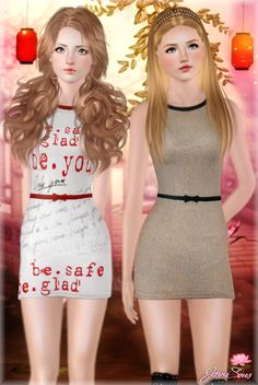 Icebreaker dress by Jennisims - Sims 3 Downloads CC Caboodle