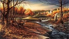 "Indian Summer | Indian Summer"" by Terry Redlin - Limited Edition - Country-Art.com."