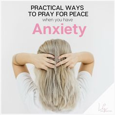 """For the month of August, we're going to be talking about anxiety and how to  combat it God's way. I'll be grouping anxiety disorders in with  """"non-disorder"""" anxiety for the purposes of this article, even though I  realize they're very different but because spiritually-speaking, the  treatment is the same.  To prepare for the month ahead, I want to start by laying down a very basic  understanding of anxiety."""