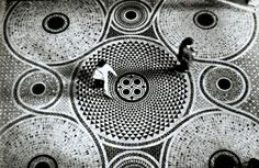 { Gianni Berengo Gardin - Mosaic Floor of Saint Mark's Cathedrale in Venice, 1965 }