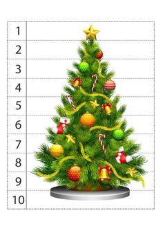 Preschool Christmas Crafts, Christmas Activities For Kids, Spring Activities, Math For Kids, Toddler Learning Activities, Christmas Puzzle, Toddler Christmas, Noel Christmas, Christmas Themes