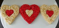 rice krispy valentine treats