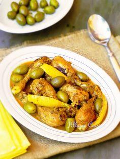 Petit voyage savoureux au cœur du Maroc... Honneur aux saveurs orientales, avec ce poulet au citron à la marocaine, un plat simple et délicieux que nous v