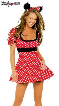 Costume sexy mouse halloween mickey women