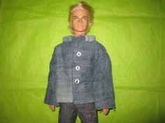 Jean Jacket  Pattern for Ken (Barbie, Free)