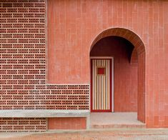 Martin Lejarraga renovates mountain refuge with red bricks and tiles