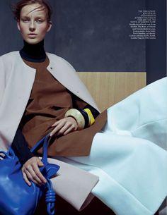 Julia Bergshoeff by Karim Sadli for Vogue UK January 2015 6