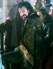 """Alan Rickman + Period piece costumes ↳ Robin Hood: Prince of Thieves [1991] """
