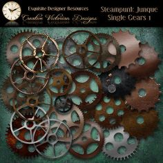 Steampunk Junque - Single Gears 1  $4.99
