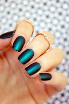 32 Gorgeous Looks for Matte Short Nails; matte nails for fall; simple matte nails;chic nail designs;easy designs for short nails. Spring Nail Art, Cute Spring Nails, Cute Nails, Nail Designs Spring, Nail Art Designs, Round Nails, Types Of Nails, Nail Colors, Salons
