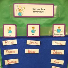 Start your day with a mystery question and see how exciting children get to engage in literacy. Great was to promote oral language also! 3 Year Old Preschool, Preschool Literacy, Early Literacy, Question Of The Day, This Or That Questions, Circle Time Board, Back To School Displays, Math Meeting, Reading Help