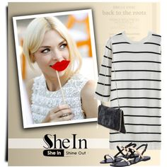 SheIn 7 by monmondefou on Polyvore featuring moda and Möve