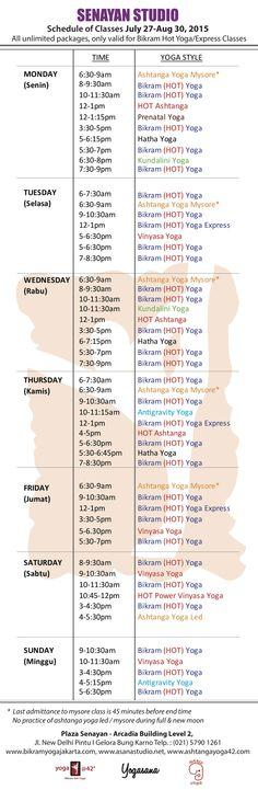 Bikram Yoga, Jakarta, Studio, Studios, Studying