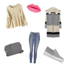"""Untitled #16"" by soukupova-t on Polyvore featuring Topshop, MICHAEL Michael Kors and Vince"