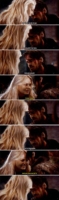 "Killian Jones and Emma Swan - 5 * 14 ""Devil's Due"" #CaptainSwan"