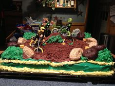 dirt bike grooms cake ideas - Yahoo Image Search Results