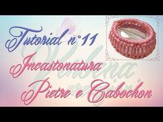 Chiacchierino Ad Ago: TUTORIAL 11 - Tecnica per incastonare Pietre e Cabochon - YouTube