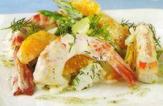 Receta de Ensalada de langostinos en http://www.recetasbuenas.com/ensalada-de-langostinos/ Prepara una ligera ensalada de langostinos fácil y rápida. Un plato ideal para servir frío en los meses calurosos de verano.  #recetas #Ensaladas #langostinos