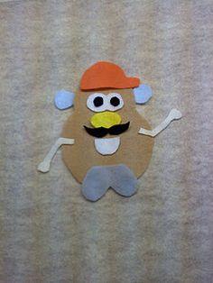 felt board mr potato head