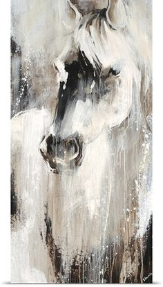 Prairie III Prairie III Johann Faber Phantasie Edmunds captures the mystical beauty of a wild White horse in this gorgeous Contemporary nbsp hellip Painting horse Arte Equina, Horse Artwork, Horse Drawings, Contemporary Abstract Art, Equine Art, Animal Paintings, Horse Paintings, Modern Paintings, Beautiful Paintings