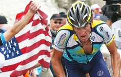 """Lance Armstrong """"Giving up was never an option"""""""