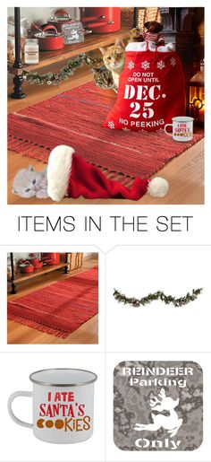 """""""Tell Santa we've found his hat!"""" by annacullart ❤ liked on Polyvore featuring art and contestentry"""