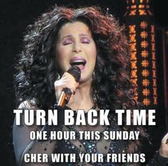 "You're going to remember, because ""Cher"" told you to!"